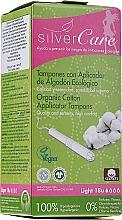 Düfte, Parfümerie und Kosmetik Tampons aus Bio-Baumwolle mit Applikator 18 St. - Masmi Silver Care Light