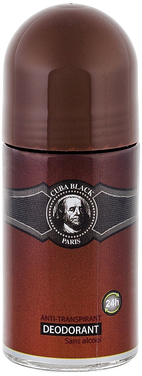 Cuba Black - Deospray Antitranspirant