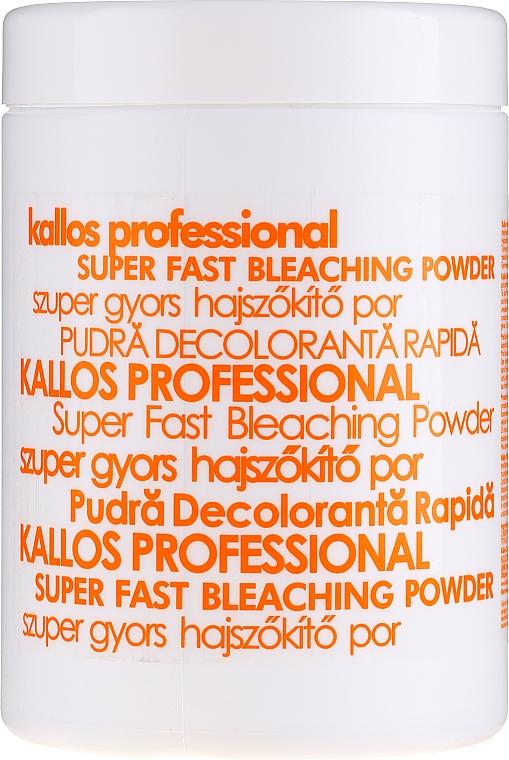 Aufhellendes Haarpulver - Kallos Cosmetics Powder For Hair Bleaching