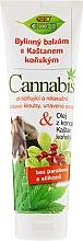 Düfte, Parfümerie und Kosmetik Fußbalsam mit Kastanien- und Hanföl - Bione Cosmetics Cannabis Herbal Ointment With Horse Chestnut