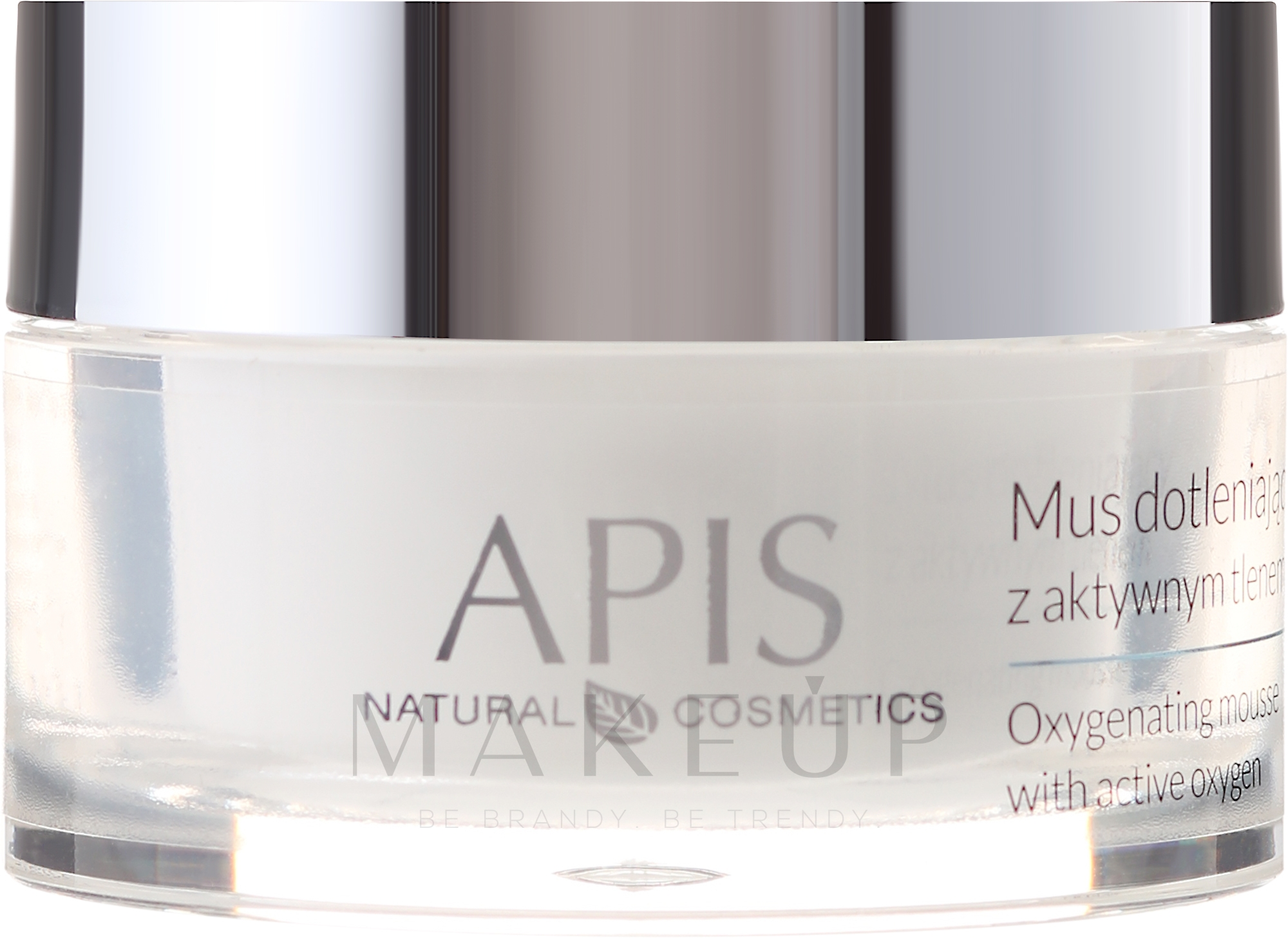 Creme-Mousse für das Gesicht mit aktivem Sauerstoff - APIS Professional Home TerApis Oxygenating Mousse — Bild 50 ml