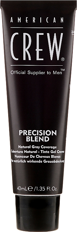 Grauhaarabdeckung Farbe - American Crew Precision Blend Shades — Bild N2