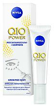 Anti-Falten Augencreme - Nivea Visage Anti Wrinkle Q10 Plus Eye Cream — Bild N1