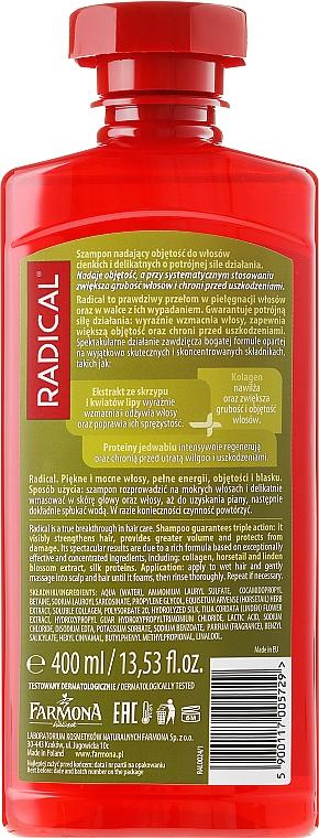 Shampoo für mehr Volumen - Farmona Radical Volume Shampoo — Bild N2