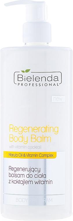 Regenerierender Körperbalsam mit Marulaöl und Vitamin-Komplex - Bielenda Professional Body Program Regenerating Body Balm