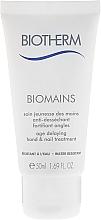 Düfte, Parfümerie und Kosmetik Anti-Aging Hand- und Nagelpflege - Biotherm Biomains Age Delaying Hand & Nail Treatment