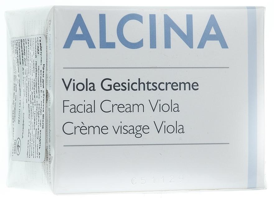 Gesichtscreme mit Veilchen - Alcina T Facial Cream Viola