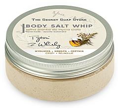 Düfte, Parfümerie und Kosmetik Glättende, feuchtigkeitsspendende und erfrischende Salz-Duschmousse Tabak & Whisky - The Secret Soap Store Tobacco And Whiskey Body Salt Whip