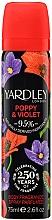 Düfte, Parfümerie und Kosmetik Yardley Poppy & Violet - Deospray