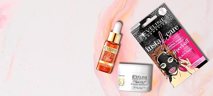 Beim Kauf von Eveline Cosmetics Produkten ab 9 € erhalten Sie geschenkt