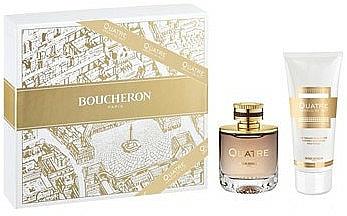 Boucheron Quatre Absolu De Nuit Pour Femme - Duftset (Eau de Parfum 50ml + Körperlotion 100ml)