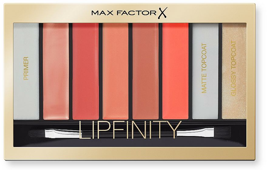 Lippenstiftpalette - Max Factor Lipfinity Palette