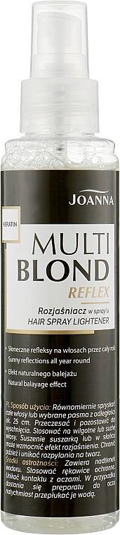 Haar Aufhellungsspray - Joanna Multi Blond Spray