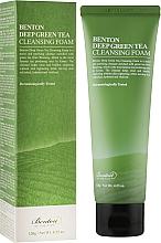 Düfte, Parfümerie und Kosmetik Reinigungsschaum mit Grüntee-Extrakt - Benton Deep Green Tea Cleansing Foam