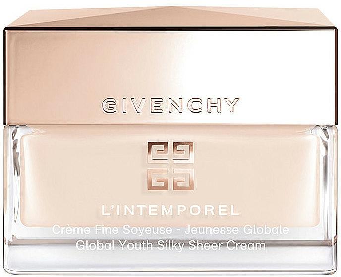 Sanfte und feuchtigkeitsspendende Tagescreme - Givenchy L'Intemporel Global Youth Silky Sheer Cream