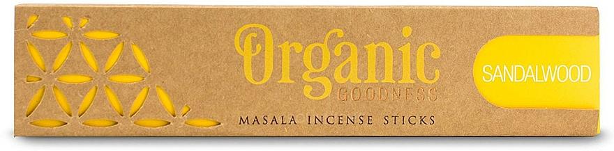 Duftstäbchen Sandelholz - Song Of India Organic Goodness Sandalwood — Bild N1