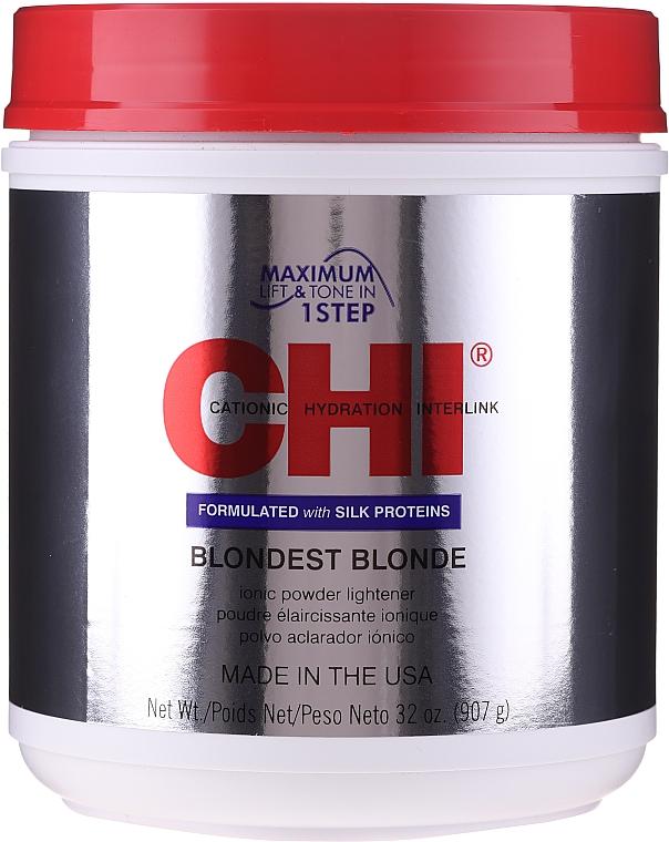 Haaraufhellungspuder - CHI Blondest Blonde Powder Lightener — Bild N4