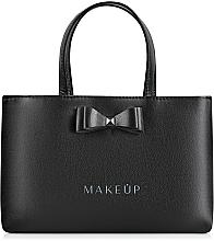 Düfte, Parfümerie und Kosmetik Handtasche Black elegance - MakeUp (24 x 15,5 cm)
