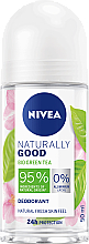 Deo Roll-on - Nivea Naturally Good Deodorant Roll-on Bio Green Tea — Bild N1