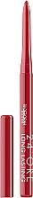 Düfte, Parfümerie und Kosmetik Automatischer, langlebiger Lippenkonturenstift - Deborah 24 ORE Long Lasting Lip Pencil