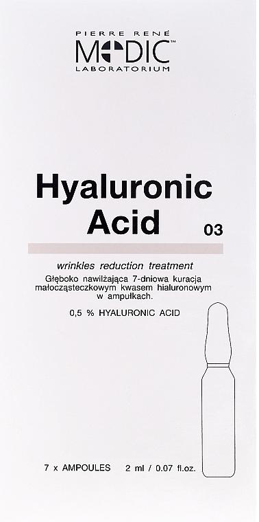 """Gesichtsampullen """"Hyaluronsäure"""" - Pierre Rene Medic Laboratorium Vital Serum"""