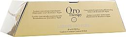Düfte, Parfümerie und Kosmetik Konzentrierte und regenerierende Haarlotion mit Keratin, Arganöl und Gold - Fanola Oro Therapy Lotion