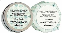 Düfte, Parfümerie und Kosmetik Modelierender Ton für das Haar mit Matt-Effekt - Davines More Inside Strong Moulding Clay