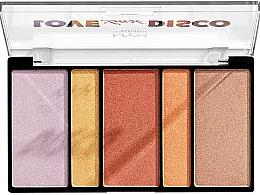 Düfte, Parfümerie und Kosmetik Highlighter-Palette - Nyx Professional Makeup Love Lust Disco