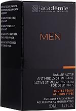 Düfte, Parfümerie und Kosmetik After Shave Balsam - Academie Men Active Stimulating Balm for Deep Lines