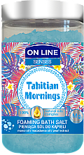 Düfte, Parfümerie und Kosmetik Badesalze - On Line Senses Bath Salt Tahitian Mornings