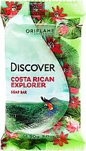 Düfte, Parfümerie und Kosmetik Seife mit Duft nach Blumen und tropischen Früchten - Oriflame Discover Costa Rican Explorer Soap Bar