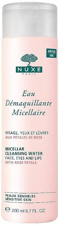 Mizellen-Reinigungswasser mit Rosenblüten - Nuxe Micellar Cleansing Water With Rose Petals
