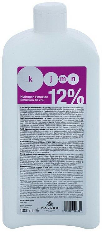 Oxidationsmittel 12% - Kallos Cosmetics KJMN Hydrogen Peroxide Emulsion