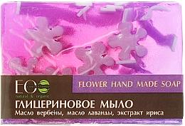Glycerinseife mit Blumenölen und Extrakten - ECO Laboratorie Flower Hand Made Soap — Bild N1
