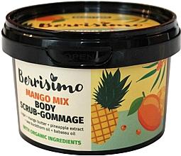 Düfte, Parfümerie und Kosmetik Körperpeeling-Gommage mit Mangobutter und Granatapfelextrakt - Berrisimo Mango Mix Body Scrub-Gommage