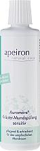 Düfte, Parfümerie und Kosmetik Kräuter-Mundspülung für den empfindlichen Mundraum - Apeiron Auromere Sensetive Mouthwash