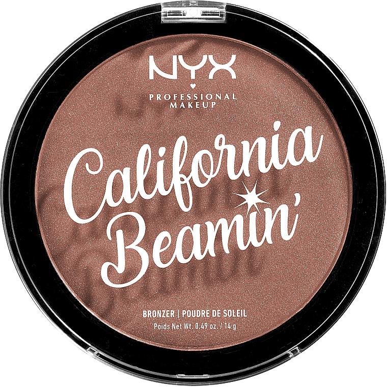 Gesichts- und Körperbronzer - NYX Professional California Beamin Face & Body Bronzer