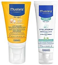 Düfte, Parfümerie und Kosmetik Gesichtspflegeset - Mustela Bebe (Sonnenschutz-Gesichtslotion 40ml + Sonnenschutz-Creme 40ml)