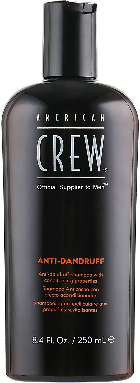 Antischuppen + Sebum Control Shampoo - American Crew Anti Dandruff+Sebum Control Shampoo