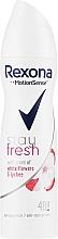 Düfte, Parfümerie und Kosmetik Deospray Antitranspirant - Rexona Stay Fresh White Flowers & Lychee Spray