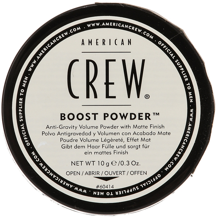 Haarpuder für mehr Volumen und mattes Finish - American Crew Boost Powder