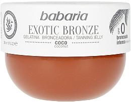 Düfte, Parfümerie und Kosmetik Bräunungsgelee mit Kokosnuss - Babaria Exotic Bronze Tanning Jelly