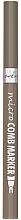 Düfte, Parfümerie und Kosmetik Flüssiger Augenbrauenstift und Styling-Bürstchen - Lovely Micro Comb Marker