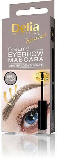 Cremige Wimperntusche - Delia Creamy Eyebrow Mascara
