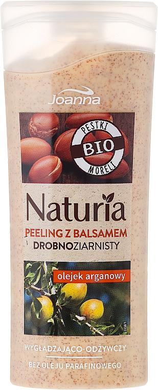 Glättendes und pflegendes Körperpeeling mit Arganöl - Joanna Naturia Argan Oil Peeling