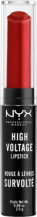 Lippenstift - NYX Professional Makeup High Voltage Lipstick