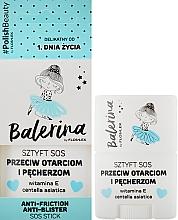 Düfte, Parfümerie und Kosmetik Pflegendes und schützendes SOS Körperstick mit Vitamin E und Indischem Wassernabel - Floslek Anti-Friction Anti-Blister Sos Stick