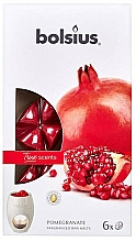 Düfte, Parfümerie und Kosmetik Tart-Duftwachs Granatapfel - Bolsius True Scents Pomegranate Smart Wax System