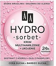 Düfte, Parfümerie und Kosmetik Feuchtigkeits- und Pflegecreme für trockene und sehr trockene Haut mit Acerola - AA Hydro Sorbet Moisturising & Nutrition Cream