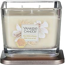 Düfte, Parfümerie und Kosmetik Duftkerze im Glas Rice Milk & Honey - Yankee Candle Elevation Rice Milk & Honey